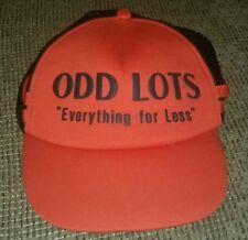 ODD LOTS vintage BASEBALL HAT CAP employee MESH SNAPBACK big store TRUCKER.hip