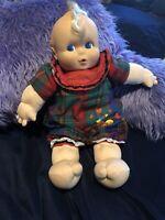 """Kewpie Babies 18"""" baby doll orig outfit Giggles"""