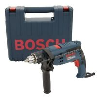 Hammer Drill Kit 1/2 Inch Corded Electric 7 Amp Motor Variable Speed Hard Case