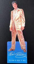 """Elvis Presley Bookmark """"The King Of Rock N Roll"""" in vinyl cover. # 1 Of 15"""
