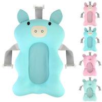 Infant Baby Bath Pad Non-Slip Bathtub Mat NewBorn Safety Soft Bath Seat Support