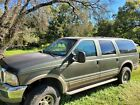 2000 Ford Excursion LIMITED 2000 Ford Excursion SUV Green 4WD Automatic LIMITED