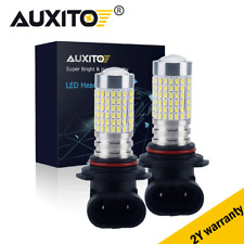 2x HB4 9006 LED Headlight Lamp DRL Fog Light Bulbs 144LED High Power White 6000K