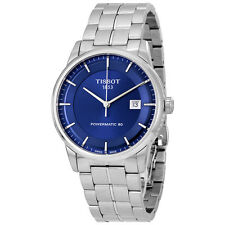 Tissot Luxury Automatic Blue Dial Mens Watch T086.407.11.041.00