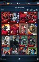 Topps Marvel Collect pick any 9 cards from ThunderGirl 2:1 account