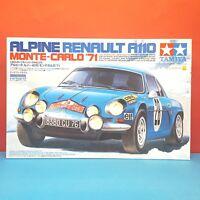 Tamiya 1/24 Alpine Renault A110 Monte-Carlo '71(Cartograf decal) model kit 24278