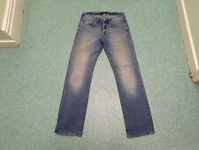 "Paul Smith Straight Jeans Waist 30"" Leg 32"" Faded Medium Blue Mens Jeans"