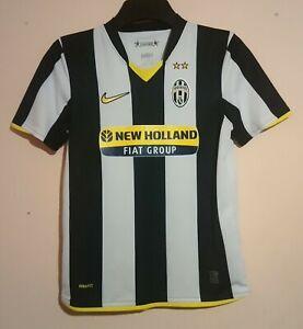JUVENTUS FOOTBALL CLUB 2008 NIKE HOME SHIRT LARGE BOYS BIANCONERI NEW HOLLAND VG