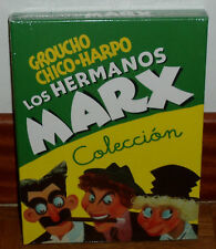 LOS HERMANOS MARX COLECCION PACK 5 DVD NUEVO PRECINTADO COMEDIA (SIN ABRIR) R2