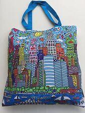 "James RIZZI: Tasche, Einkaufstasche, Art Shopping Bag ""MY NEW YORK CITY"", neu"