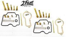 2 Pack Honda Carburetor Carb Rebuild Repair Kit XL-600R XL600R XL 600R 86-87