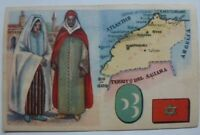 Vintage Cigarettes Card. MOROCCO. REGIONS OF THE WORLD COLLECTION. Rare