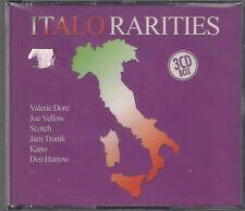 ITALO RARITIES 3CD BOX NEW & SEALED TOP RARE OOP 80' ITALO DISCO 2005 ZYX MUSIC