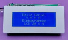 Bezel front frame enclosure LCD 20x4 2004 Arduino Raspberry Yver Inc. FF2004 EU