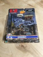 GI Joe Accessory             Red Display Battle Stand Copyright 1988 HASBRO