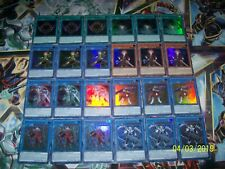24 Card Nekroz Deck Core Trishula Brionac Valkyrus DUPO Yu-Gi-Oh!