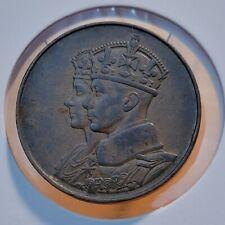 Canada - 1937 Coronation Medal Royal Visit - King George VI & Queen Elizabeth