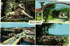 CPA  Belfort - Le Lion (Ceuvre de Barthold) - Roseraie - Pont Carnot (585057)