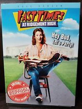 Fast Times at Ridgemont High DVD 2004 Special Edition Full Frame New SEALED