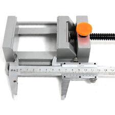 1*Useful Cast Aluminium Drill Press Vise Quick Release Mechanical Rotate Tool NE