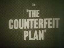 16mm  The Counterfeit Plan Zachary Scott Peggie Castle Mervyn Johns 1957