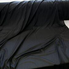 schwarz Jersey bi-elastisch Deko- und Bekleidungs-Stoff Meterware wie Netz 135cm