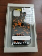 heyday Apple iPhone 11 Pro Case - Tortoise Shell Print - Black Sides
