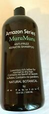 Amazon Series MuruMuru Anti-Frizz Keratin Shampoo & Conditioner 33.8 oz. liter