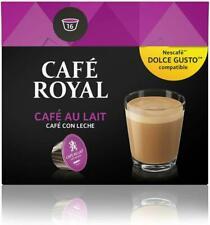 Café Royal Café Au Lait 48 Coffee Pods Compatible With The Nescafé (R)* Dolce