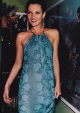 Gucci SS 2000 Tom Ford Collection Blue Python Print piste Dress 38 uk 6-8