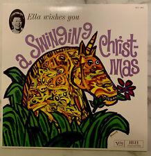 Ella Fitzgerald - Ella wishes you a swinging Christmas. Rare VMP 2019 1,000 copy