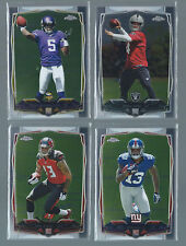 2014 TOPPS CHROME FOOTBALL COMPLETE SET 1-220 WITH ROOKIES CARR BECKHAM FREEMAN