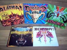 Lot de 5 CD Single / 666 - Amokk - Bomba - Diablo - Alarma - Get Up 2 Da Track