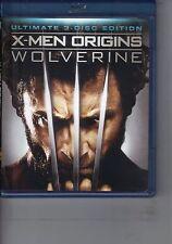 X-Men Origins: Wolverine  DVD Blu-ray Hugh Jackman, Liev Schreiber, Ryan Reynold