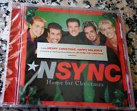 *NSYNC NSYNC Home For Christmas NEW CD Justin Timberlake Joey Fatone Lance Bass