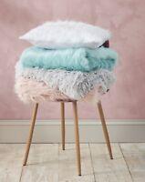 Catherine Lansfield Luxury Metallic Faux Fur throw