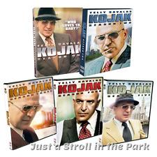KOJAK: Complete Telly Savalas TV Series Seasons 1 2 3 4 5 Box/DVD Set(s) NEW!