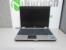 """HP EliteBook 6930p 14"""" C2D P8600 2.4GHz 4GB/160GB Webcam 'NO BATTERY' Laptop +AC"""