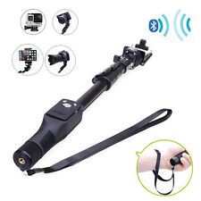 for iPhone Samsung  Selfie Stick Bluetooth Extendable Handheld Tripod Monopod