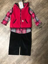 NWT Carhartt 3 Piece 6 Month Baby Outfit