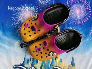 2021 Disney Parks Halloween Hocus Pocus CROCS NWT M 8 W 10 8/10