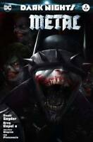 Dark Nights Metal 2 Francesco Mattina Trade Variant Batman Who Laughs Joker DC