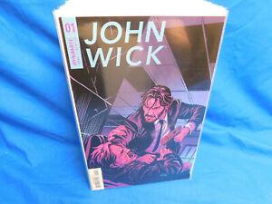 John Wick #1 (2017 Dynamite Comics) Second 2nd Printing Variant VF/NM