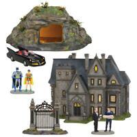 NEW Department 56 DC Comics Batman Village Full 3 Piece Set 6002318SET