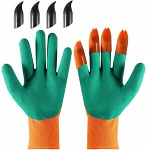 Garden Genie Protective Gloves,Planting Vegetables and Flowers Digging Soil Wear