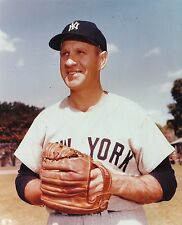 Enos Slaughter New York Yankees Licensed Unsigned Glossy 8x10 Photo MLB (D)
