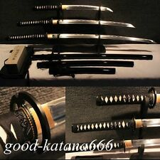 HIGH CARBON STEEL KATANA JAPANESE SAMURAI SWORD SET( KATANA + WAKIZASHI + TANTO)