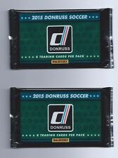 2014-15 Panini Donruss Soccer 2 Pack Hobby 8 Cards per Pack