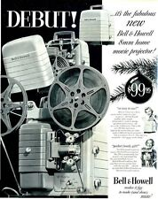 1952 Bell & Howell 8mm Movie Camera PRINT AD