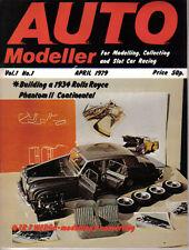 Auto Modeller Vol 1 No 1 April 1979 Rolls Royce P II TR7 Bentley 4.5 MG TC